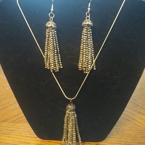 Handmade necklaces and earrings